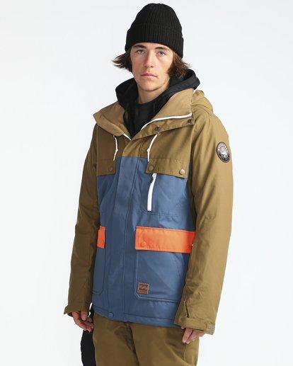 8 Craftman 10K Snow Jacket Blau L6JM03BIF8 Billabong