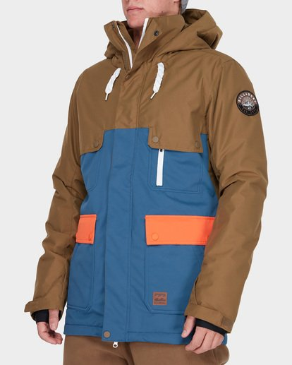1 Craftman Snow Jacket Blue L6JM03S Billabong