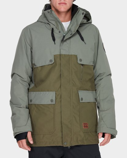 0 CRAFTMAN SNOW JACKET Brown L6JM03S Billabong