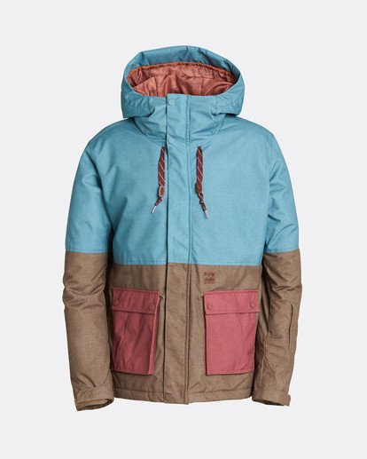 6 Fifty50 10K Snow Jacket Blau L6JM04BIF8 Billabong