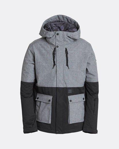 6 Fifty50 10K Snow Jacket Gray L6JM04BIF8 Billabong