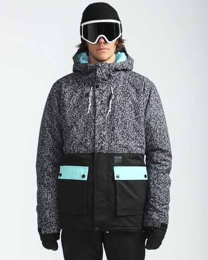 2 Fifty50 10K Snow Jacket Gris L6JM04BIF8 Billabong