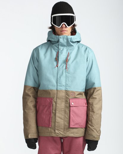 0 Fifty50 10K Snow Jacket Blau L6JM04BIF8 Billabong