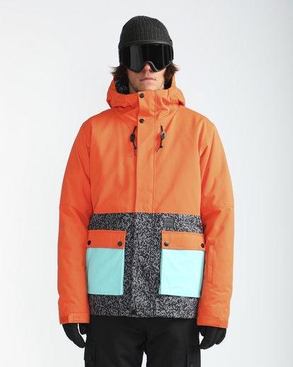 2 Fifty50 10K Snow Jacket Orange L6JM04BIF8 Billabong
