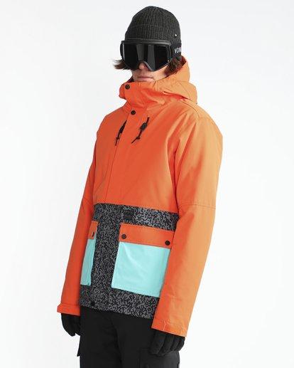 3 Fifty50 10K Snow Jacket Orange L6JM04BIF8 Billabong