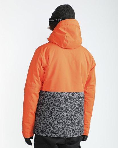 4 Fifty50 10K Snow Jacket Orange L6JM04BIF8 Billabong