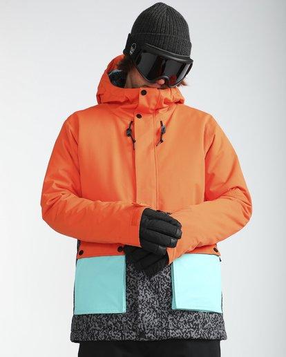 6 Fifty50 10K Snow Jacket Orange L6JM04BIF8 Billabong