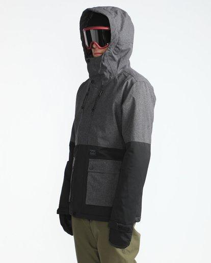 1 Fifty50 10K Snow Jacket Gray L6JM04BIF8 Billabong