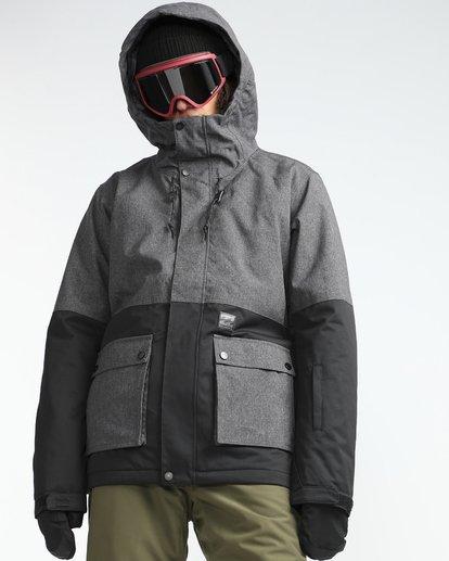 4 Fifty50 10K Snow Jacket Gray L6JM04BIF8 Billabong