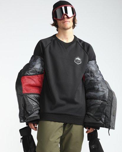 5 Fifty50 10K Snow Jacket Gray L6JM04BIF8 Billabong