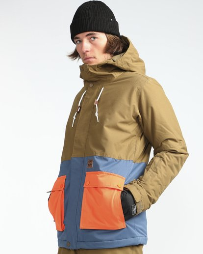 4 Fifty50 10K Snow Jacket Azul L6JM04BIF8 Billabong