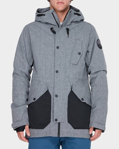 0 ADVERSARY SNOW JACKET Grey L6JM05S Billabong