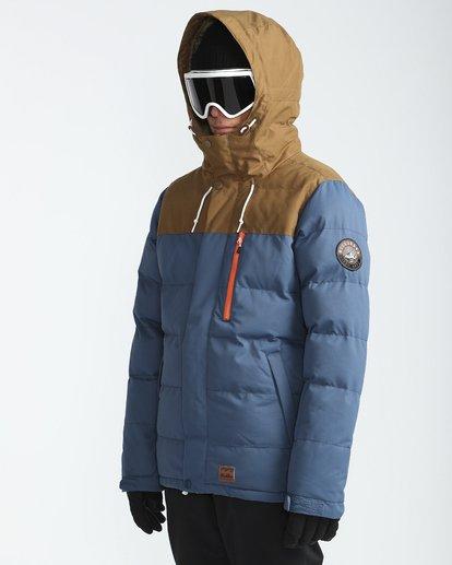 1 Glacier Puffer 10K Snow Jacket Blau L6JM07BIF8 Billabong