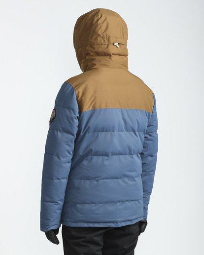 2 Glacier Puffer 10K Snow Jacket Blue L6JM07BIF8 Billabong