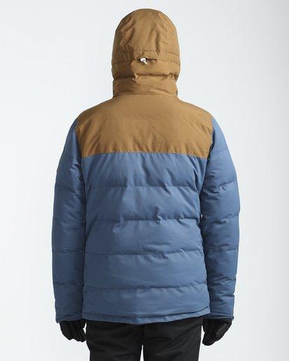 3 Glacier Puffer 10K Snow Jacket Blau L6JM07BIF8 Billabong