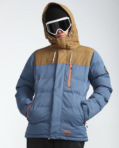 4 Glacier Puffer 10K Snow Jacket Blue L6JM07BIF8 Billabong