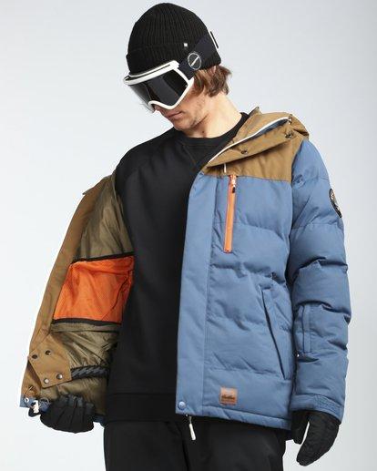 5 Glacier Puffer 10K Snow Jacket Blue L6JM07BIF8 Billabong