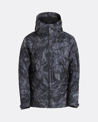 0 Expedition 15K Stretch Snow Jacket Grau L6JM08BIF8 Billabong