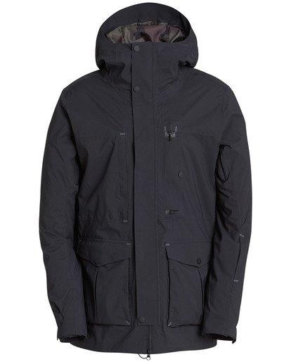 5 Bodeman Shell 45K Stretch Snow Jacket Schwarz L6JM11BIF8 Billabong