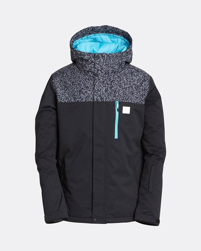 0 Pilot 10K Snow Jacket Grau L6JM12BIF8 Billabong