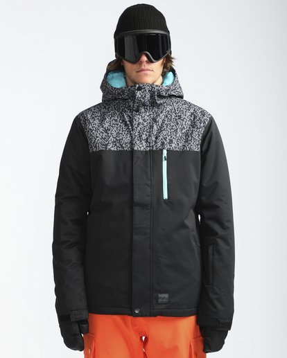 2 Pilot 10K Snow Jacket Grau L6JM12BIF8 Billabong