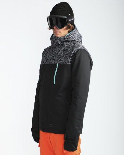 3 Pilot 10K Snow Jacket Gris L6JM12BIF8 Billabong