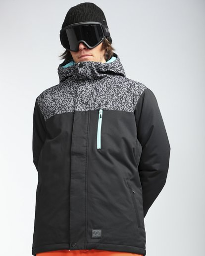 6 Pilot 10K Snow Jacket Grau L6JM12BIF8 Billabong
