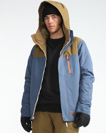 5 Pilot 10K Snow Jacket Azul L6JM12BIF8 Billabong