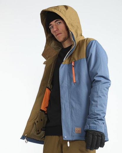 6 Pilot 10K Snow Jacket Azul L6JM12BIF8 Billabong
