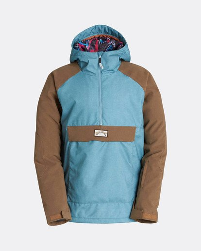 0 Stalefish Anorak 10K Snow Jacket Blue L6JM13BIF8 Billabong