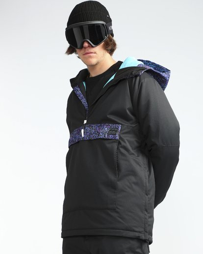 5 Stalefish Anorak 10K Snow Jacket Black L6JM13BIF8 Billabong