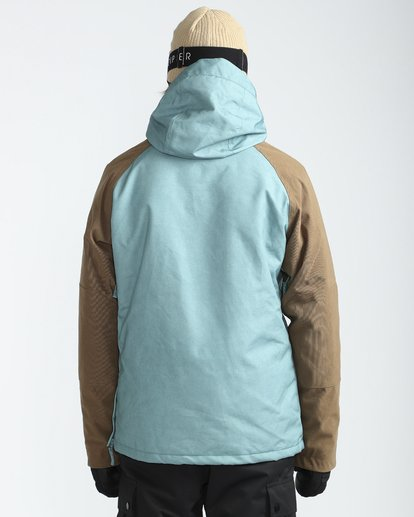 5 Stalefish Anorak 10K Snow Jacket Blue L6JM13BIF8 Billabong