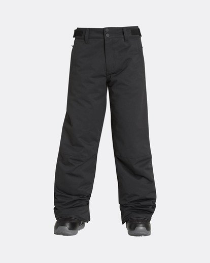 0 Boys Grom Snow Pants Schwarz L6PB01BIF8 Billabong