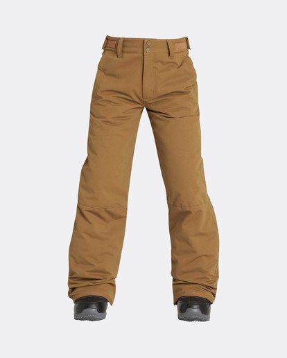 0 Boys Grom Snow Pants Yellow L6PB01BIF8 Billabong