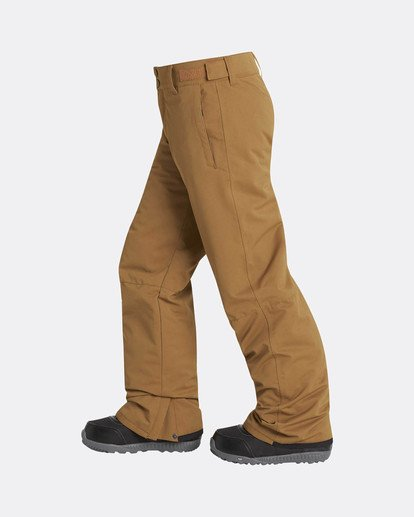 1 Boys Grom Snow Pants Yellow L6PB01BIF8 Billabong