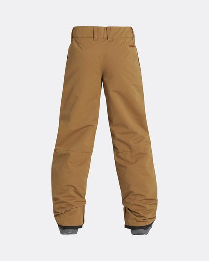 2 Boys Grom Snow Pants Yellow L6PB01BIF8 Billabong