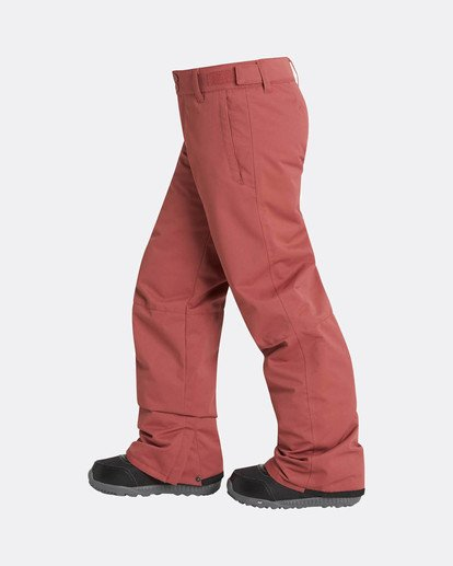 1 Boys Grom Snow Pants Marron L6PB01BIF8 Billabong