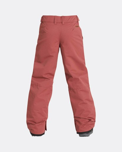 2 Boys Grom Snow Pants Marron L6PB01BIF8 Billabong