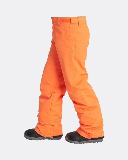 1 Boys Grom Snow Pants Orange L6PB01BIF8 Billabong