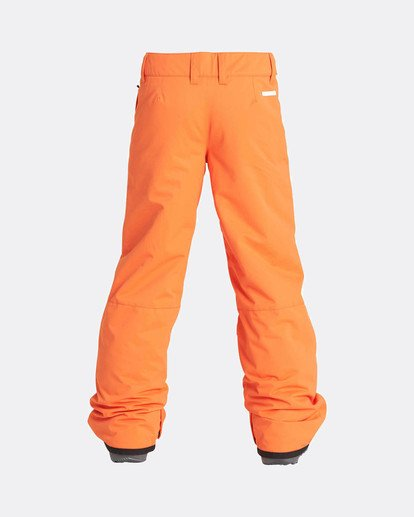 2 Boys Grom Snow Pants Orange L6PB01BIF8 Billabong