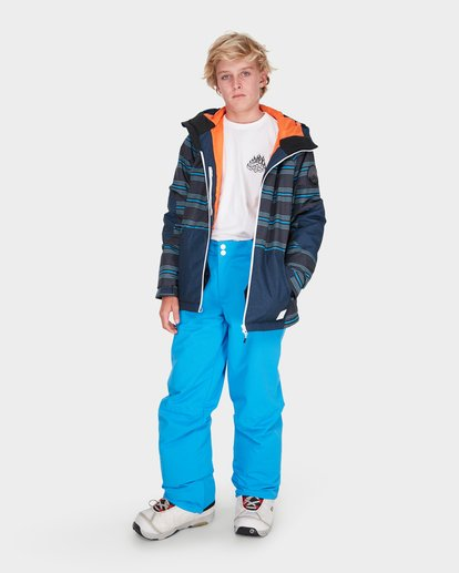 3 TEEN SNOW PANT Blue L6PB01S Billabong