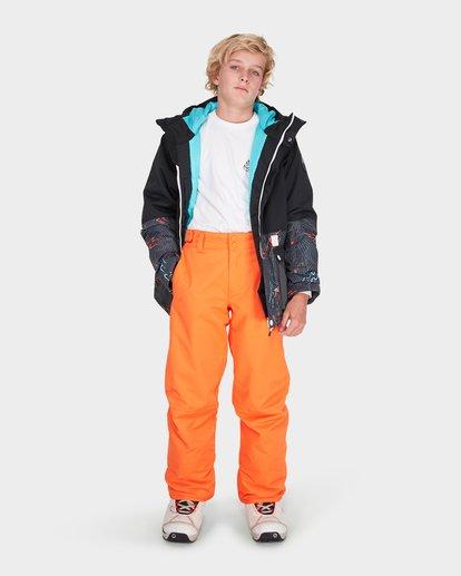 3 TEEN SNOW PANT Orange L6PB01S Billabong