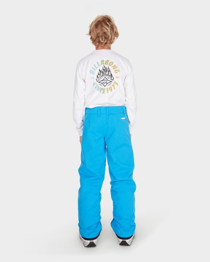2 Teen Snow Pant Blue L6PB01S Billabong