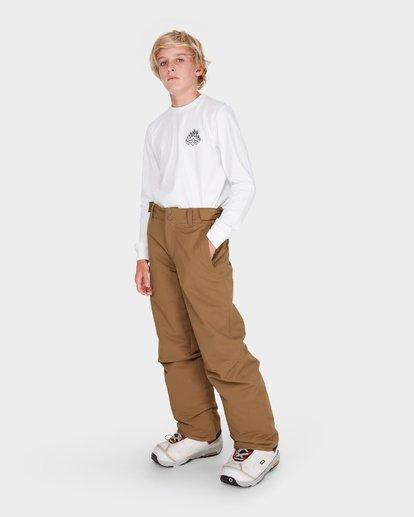 1 Teen Snow Pant Yellow L6PB01S Billabong