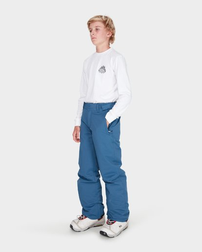 1 Teen Snow Pant Blue L6PB01S Billabong