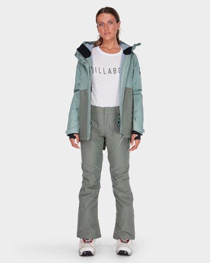 5 MALLA SNOW PANT Green L6PF01S Billabong