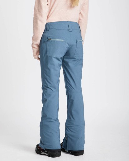 2 Terry 10K Stretch Snow Pants Marron L6PF02BIF8 Billabong