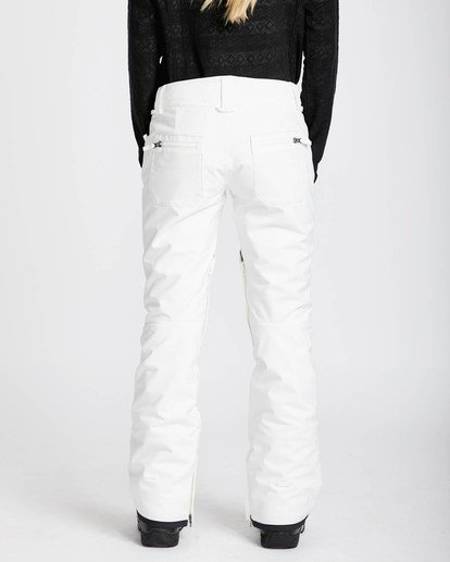 3 Terry 10K Stretch Snow Pants Blanco L6PF02BIF8 Billabong