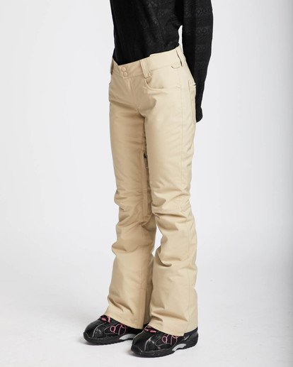 1 Terry 10K Stretch Snow Pants Beige L6PF02BIF8 Billabong