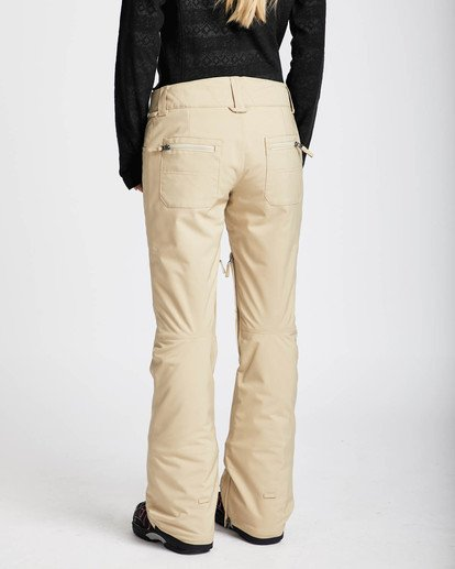2 Terry 10K Stretch Snow Pants Beige L6PF02BIF8 Billabong